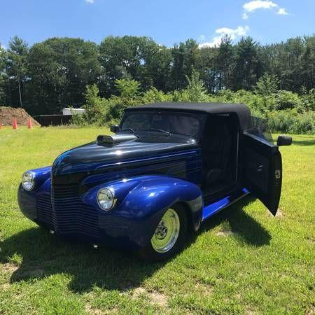 1940 Chevrolet Master Deluxe Custom