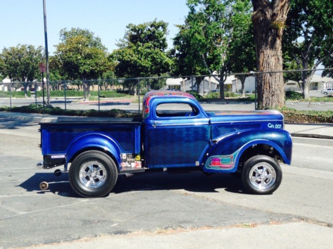 1940 Willys Pickup 9