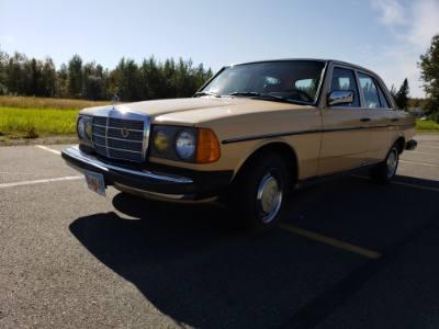 1986 Mercedes Benz 240D