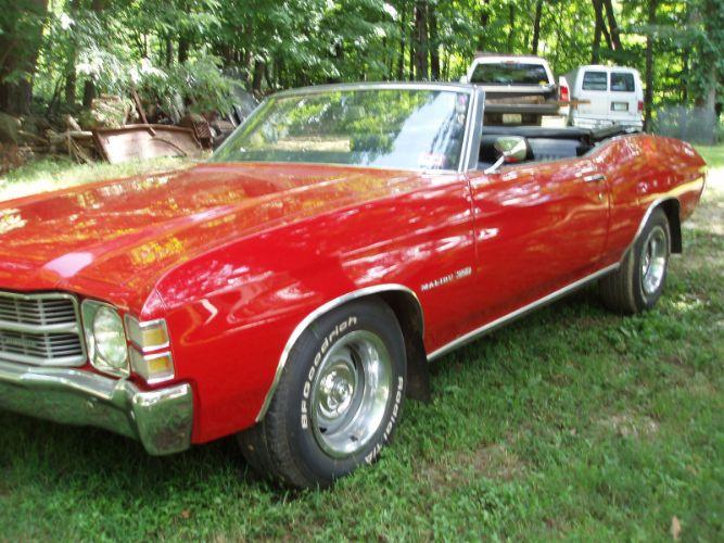 1971 Chevrolet Chevelle Convertible