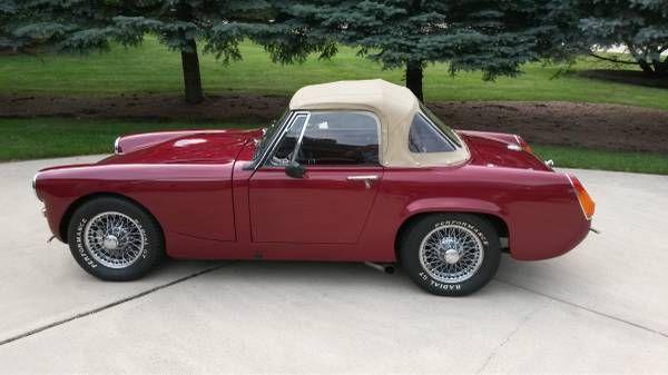 1971 MG Midget Convertible