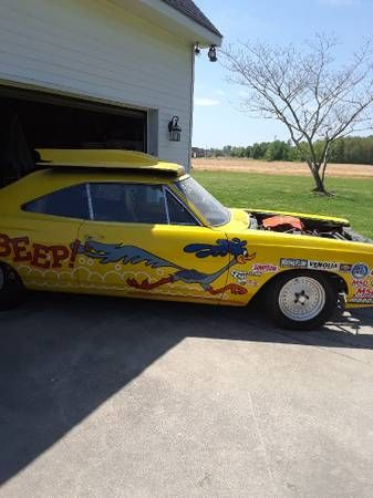 1969 Plymouth Roadrunner Race Car