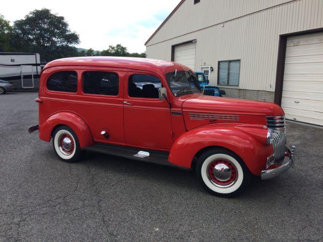 1941 Chevrolet Suburban Carryall