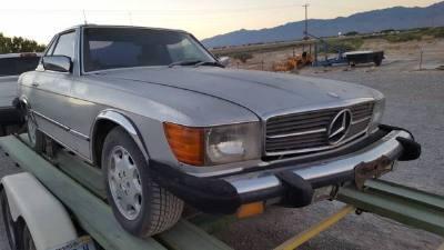 1977 Mercedes Benz 450 SL