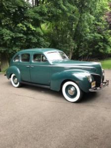 1940 Mercury Town Sedan