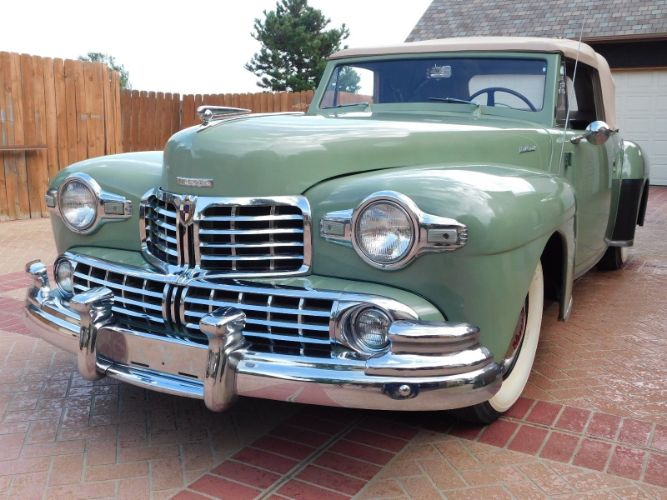 1947 Lincoln Continental 1
