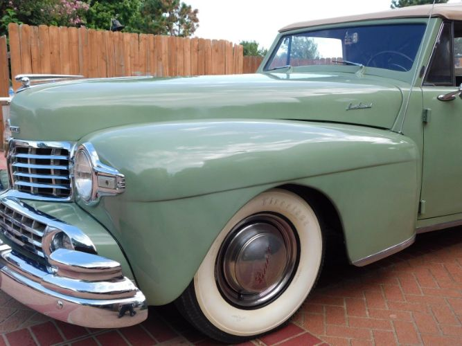 1947 Lincoln Continental 2