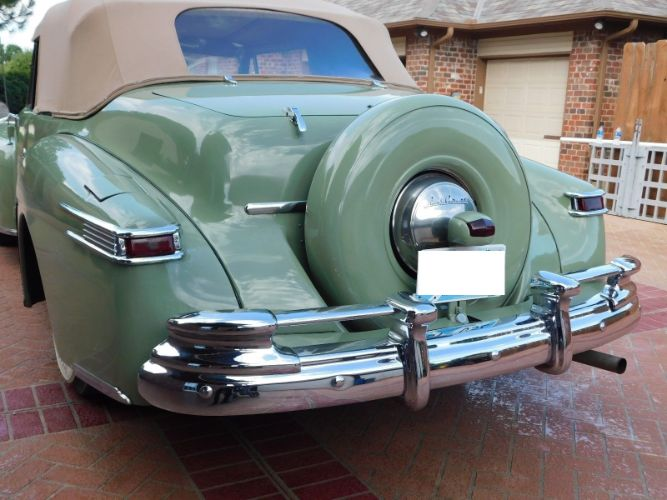 1947 Lincoln Continental 8