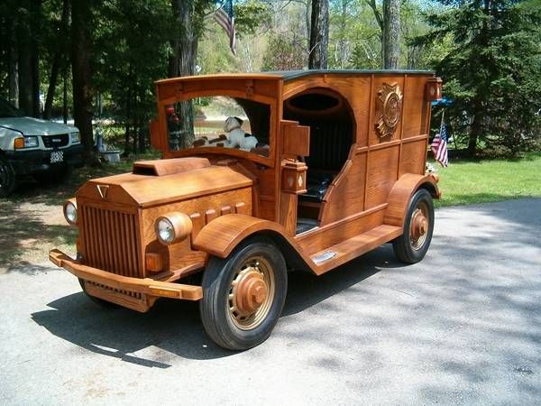 1936 Ford Wood Vehicle 1