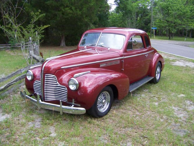 1940 Buick Business Coupe