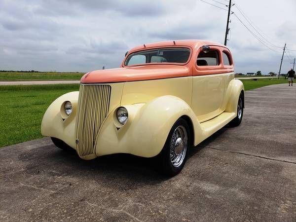 1936 Ford Slantback Sedan