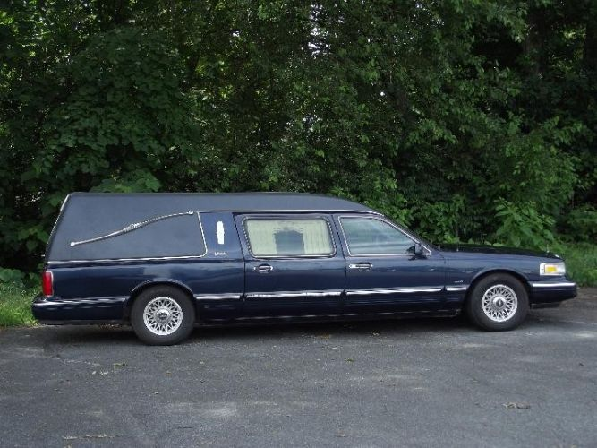 1997 Lincoln Town Car Hearse