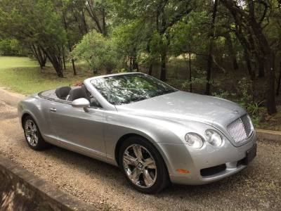 2007 Bentley Continental GT Convertible