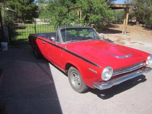 1964 Dodge Dart GT Convertible