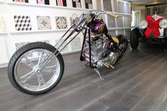 2015 Chopper Custom Purple Rain