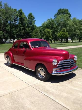 1948 Chevrolet Styleline Coupe