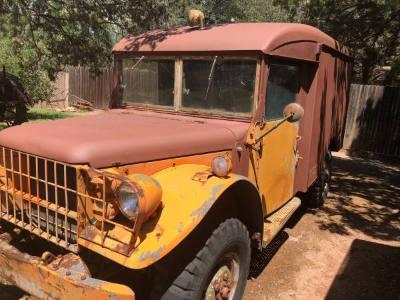 1952 Military M43 Ambulance