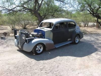 1939 Oldsmobile Humpback