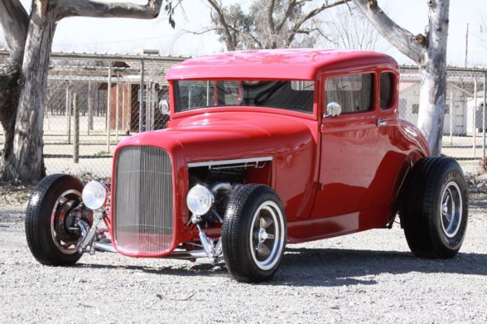 1929 Ford Hi-Boy Coupe