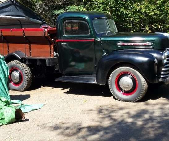 1947 Mercury Grain Truck