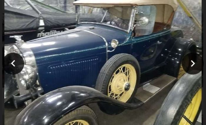 1929 Ford Model A Phaeton Convertible