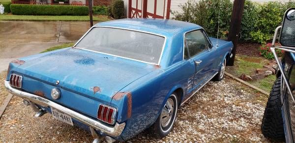 1966 Ford Mustang 2