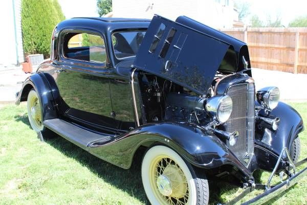 1933 Chevrolet Eagle Coupe