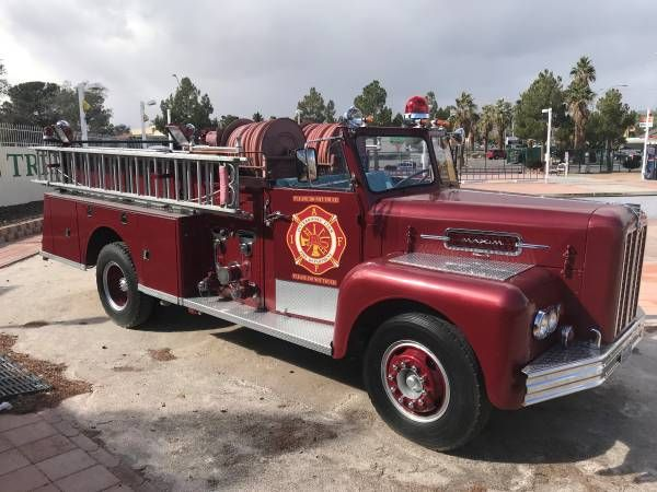 1966 Maxim Fire Truck