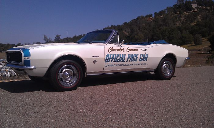 1967 Chevrolet Camaro RS/SS Pace Car