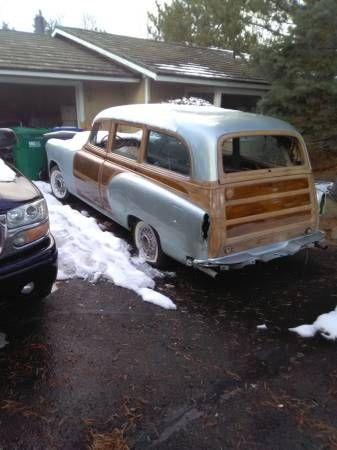 1953 Pontiac Wagon