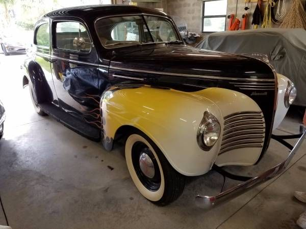 1940 Plymouth Sedan