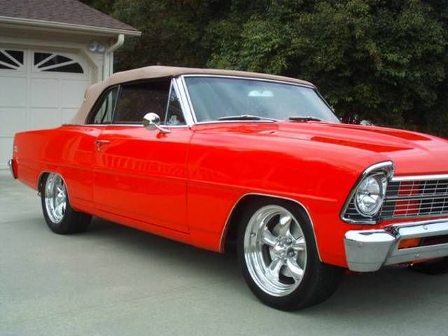 1967 Chevrolet Nova SS Convertible