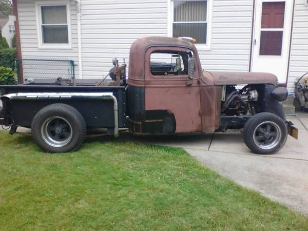 1937 Chevrolet Rat Rod Pickup