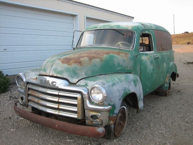 1954 GMC Panel Truck