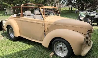 1948 Hillman Minx Convertible