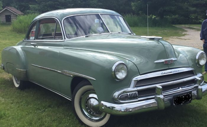 1951 Chevrolet Deluxe Coupe