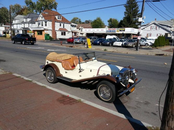 1929 Mercedes Benz Convertible