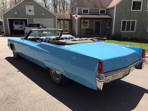 1969 Cadillac Coupe Deville Convertible