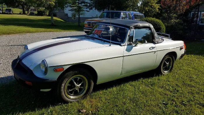 1976 MG MGB Convertible