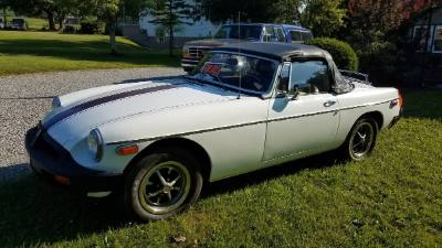 1976 MG MGB Convertible