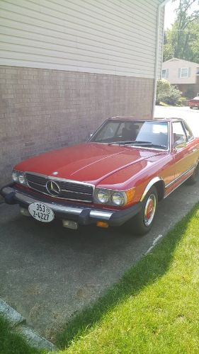 1976 Mercedes Benz 450 SL Convertible