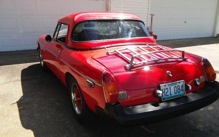 1978 MG MGB Convertible