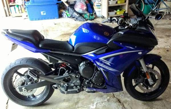 2009 Yamaha FZ 6R