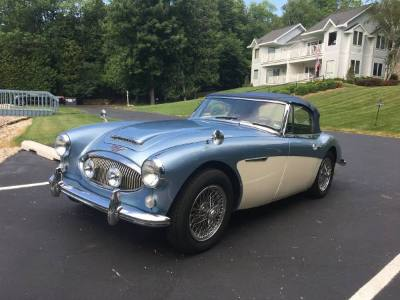 1956 Austin Healey 3000 MKIII Convertible