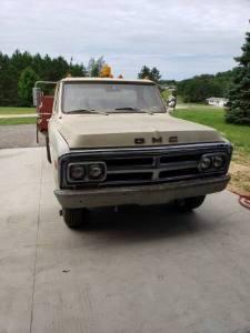 1970 GMC 3500 Dump Truck