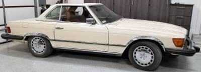1983 Mercedes Benz 380SL Convertible
