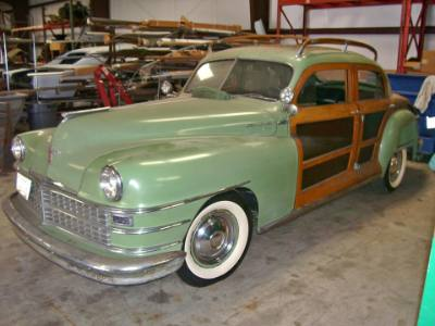 1947 Chrysler Town & Country Woody