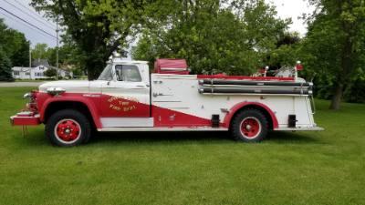 1963 GMC Fire Truck