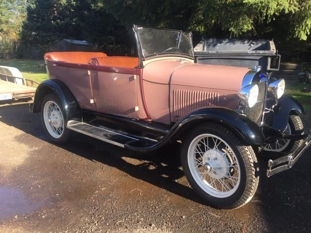 1928 Ford Phaeton Roadster