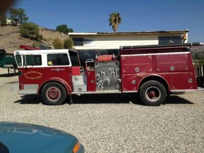 1968 American Lafrance Fire Truck